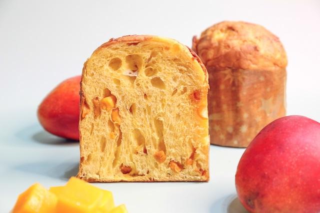 芒果米蘭麵包
