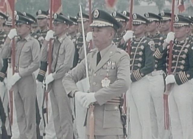 【16釐米膠卷】陸軍官校55週年校慶 軍校生英姿卓越 |