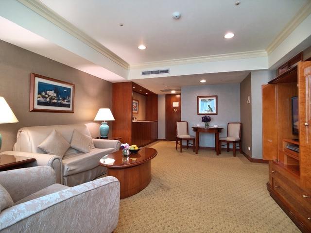 房客若有振興兩字,入住即免費升等至一房一廳的套房。