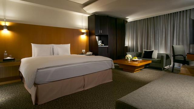 永豐棧酒店的景緻豪華客房。