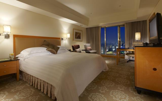 金典酒店的精緻客房。