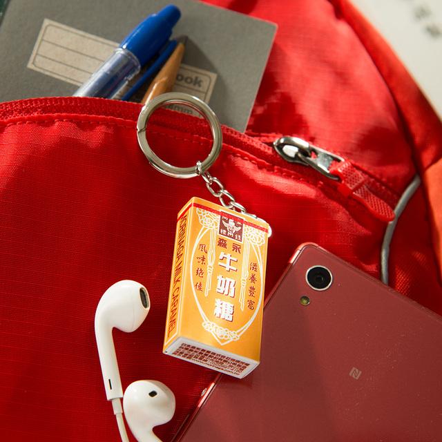 悠遊卡公司推出「森永牛奶糖3D造型悠遊卡」。