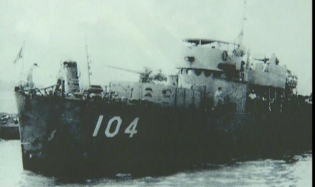 【16釐米膠卷】 九二海戰前沱江艦長追憶陣亡官兵 |