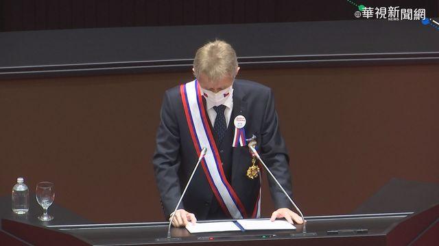 捷克參議院議長韋德齊(Miloš Vystrčil)。