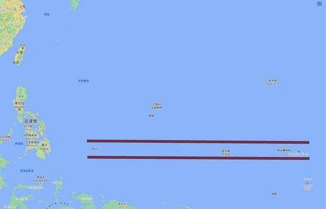 頻遭中國威脅利誘 帛琉總統盼美軍設立基地   帛琉、密克羅尼西亞和馬紹爾群島處重要戰略位置(翻攝Google Map)