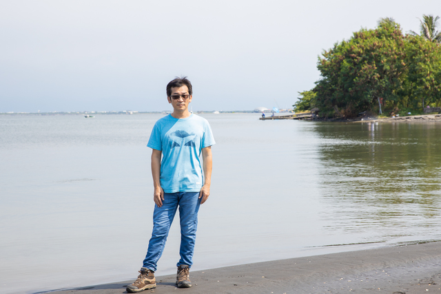 大鵬灣未過渡開發的自然環境能夠還原魏德聖導演期望拍攝的台江內海。(米倉影業提供)