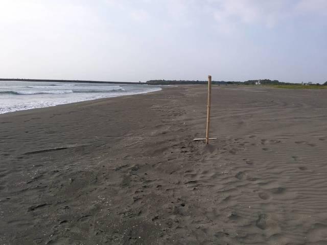 四鯤鯓沙灘國慶日嚴禁民眾戲水
