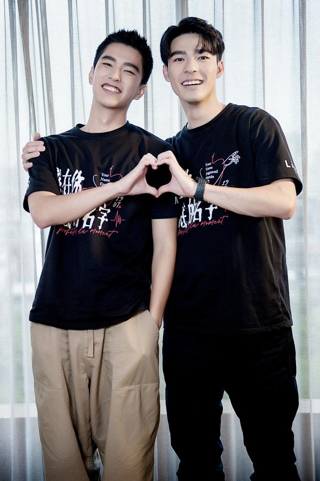 曾敬驊(左)與陳昊森日前接受LiTV線上影視專訪。