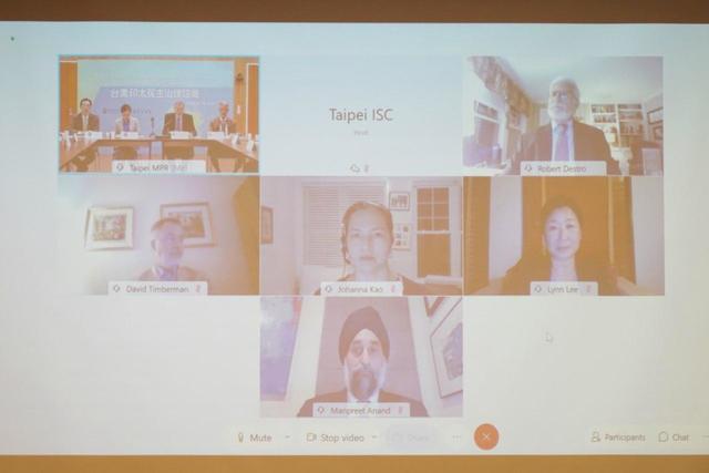 第二屆「台美印太民主治理諮商」會議,採實體及視訊混合方式辦理。(外交部提供)