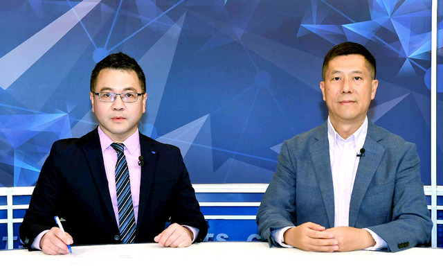汪浩獻華視新聞主持處女秀 精闢解析《美國大選》  