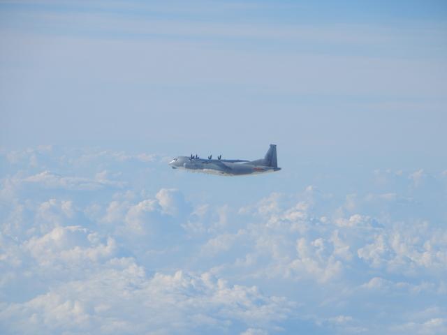 運-9通信對抗機。(國防部提供)
