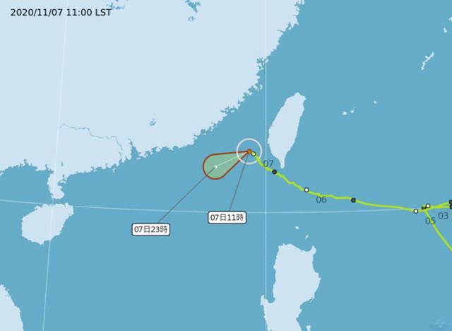 閃電海警估傍晚解除 雙北等6縣市發大雨特報 |