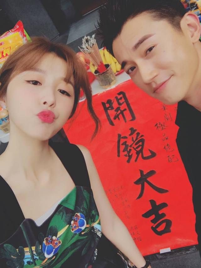 吳慷仁、邵雨薇兩人曾合作戲劇《極品絕配》。(資料照片)