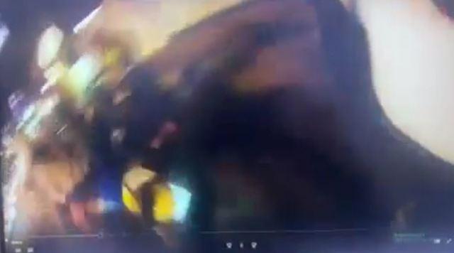 孩子摔車的瞬間。(翻攝爆廢1公社)