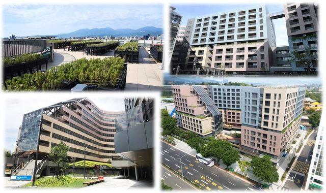 明倫社會住宅外觀。(台北市政府提供)
