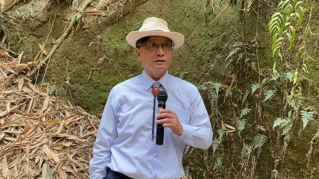日前彰化市長林世賢於臉書直播。(翻攝自彰化市長林世賢臉書)
