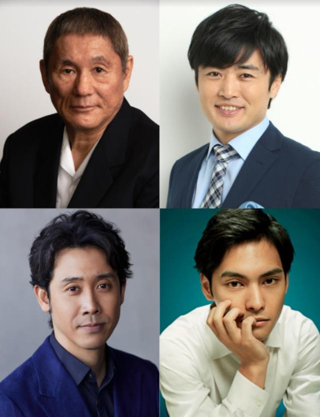 衝上40國排行榜 《今際之國》確定推出第2季 | 《浅草キッド》(Asakusa Kid)卡司。(Netflix 提供)