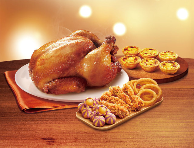 肯德基紐奧良烤全雞派對餐(業者提供)