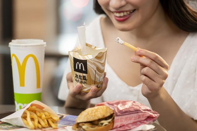 麥當勞網路訂餐輸入代碼享「4品項買一送一」(業者提供)