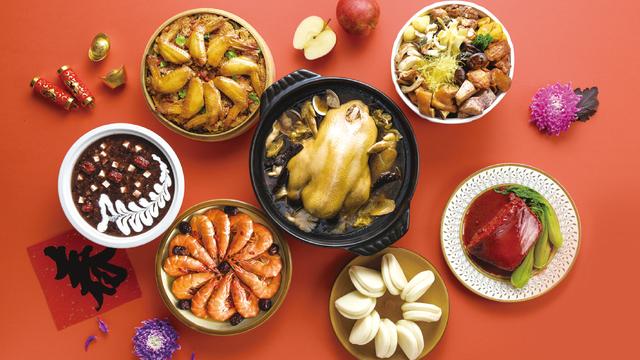 OK年菜系列以「高CP值」為訴求,推出143款年菜。(業者提供)