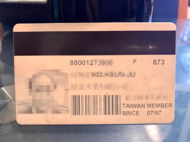 網友貼出自己的創始會員卡。(翻攝自臉書「Costco好市多 商品經驗老實說」)
