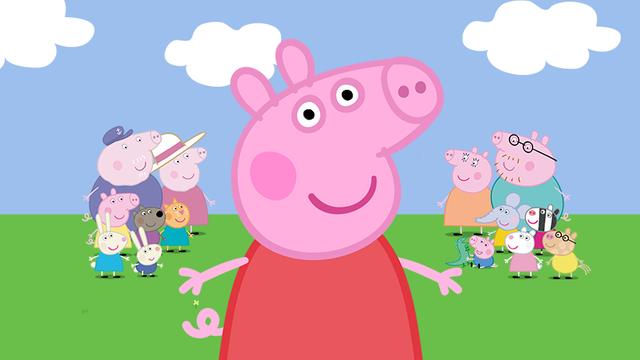 許多小孩喜歡看卡通「佩佩豬」(翻攝臉書Peppa Pig)