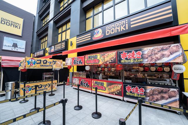 「DON DON DONKI西門店」1樓將提供日本美食區。(業者提供)