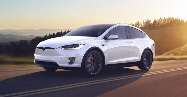 Tesla Model X 特斯拉電動車 圖/翻攝自特斯拉官網