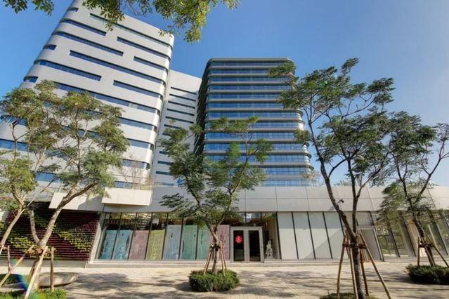 (Google台灣新辦公室空景/Google提供。)