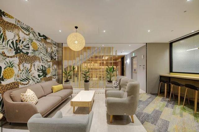 (Google台灣新辦公室在地化設計。/Google提供。)