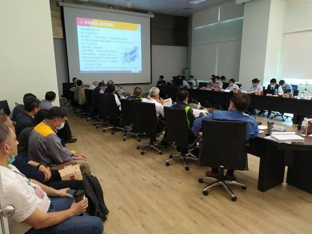 昨(25)日召開第5次會議進行報告實質審查。(台中市交通局提供)