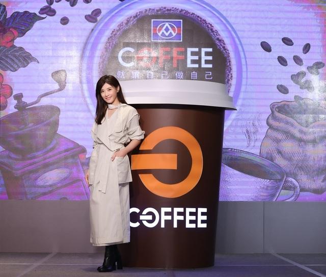 藝人蘇慧倫為全聯OFF COFFEE代言