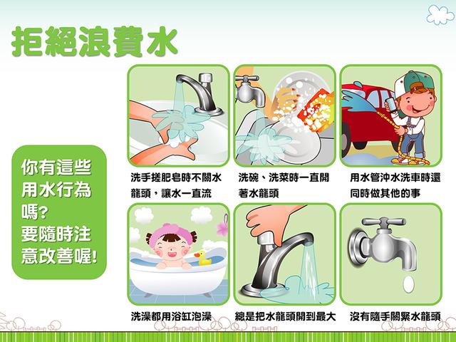 6種行為,檢視自己是不是無形中浪費了許多水/水利署提供