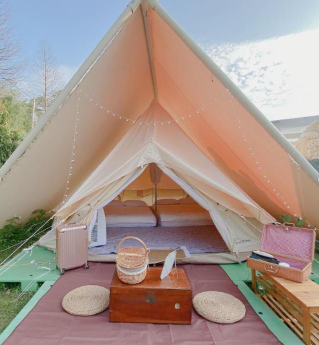 晃晃印地安(Instagram網友 @kerisa_kuo 授權提供/粉專Kerisa的浪漫露營生活)