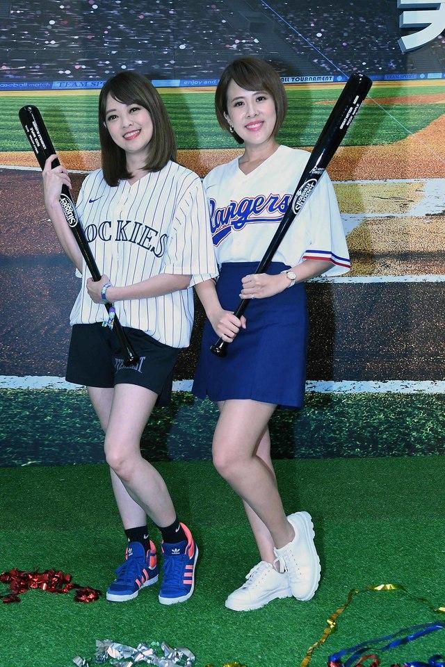 華視開台五十年首轉MLB 2021體育看華視 超迷MLB 朱培滋、莊雨潔開播記者會化身小球迷 | 20210329-華視美國職棒看華視記者