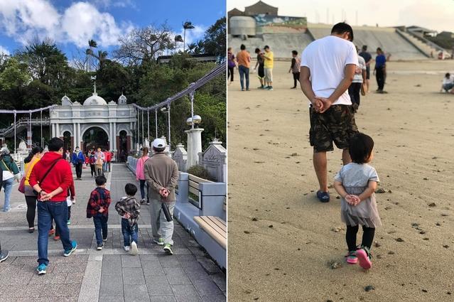 許多家長也曬出自家小孩的照片。(合成圖/翻攝自臉書爆廢1公社)