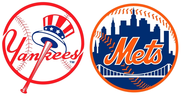 紐約洋基隊與紐約大都會隊(合成圖/翻攝維基)