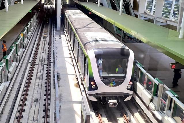 中捷綠線將於4月25日正式通車。(中捷提供)