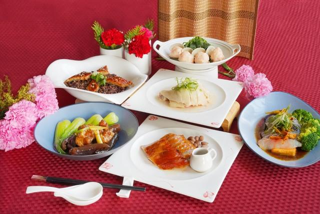 水京棧-京悅軒中餐廳推出4人份合菜外帶NT$2,980元。(業者提供)