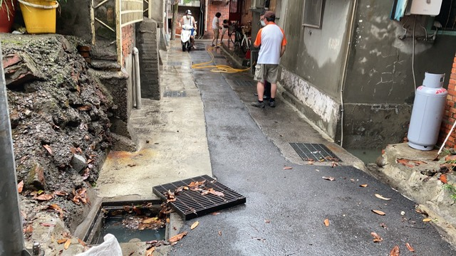 (台北市政府水利處提供)。