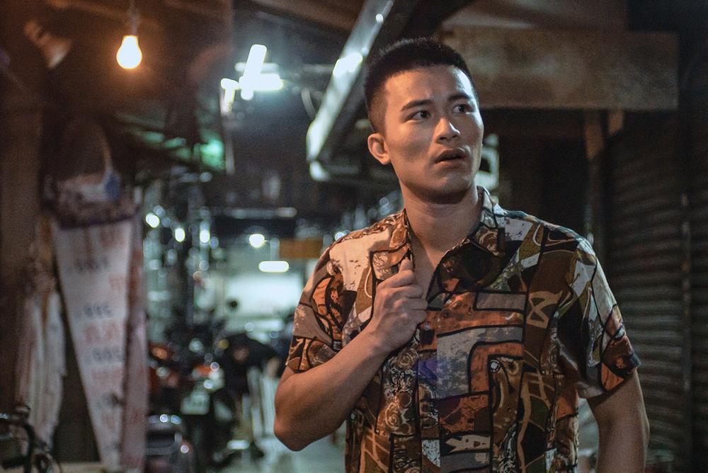 《火神》男星李宇劭在腐劇《無邪》飾演撞球間台客老闆(GagaOOLala提供)