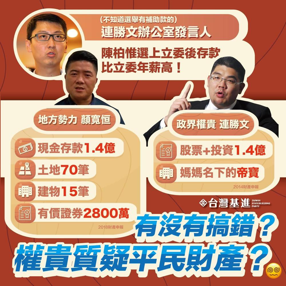 (翻攝自台灣基進臉書)。